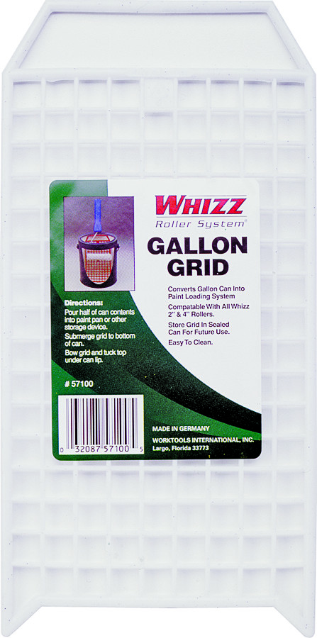 whizz 1 gallon paint can bucket grid