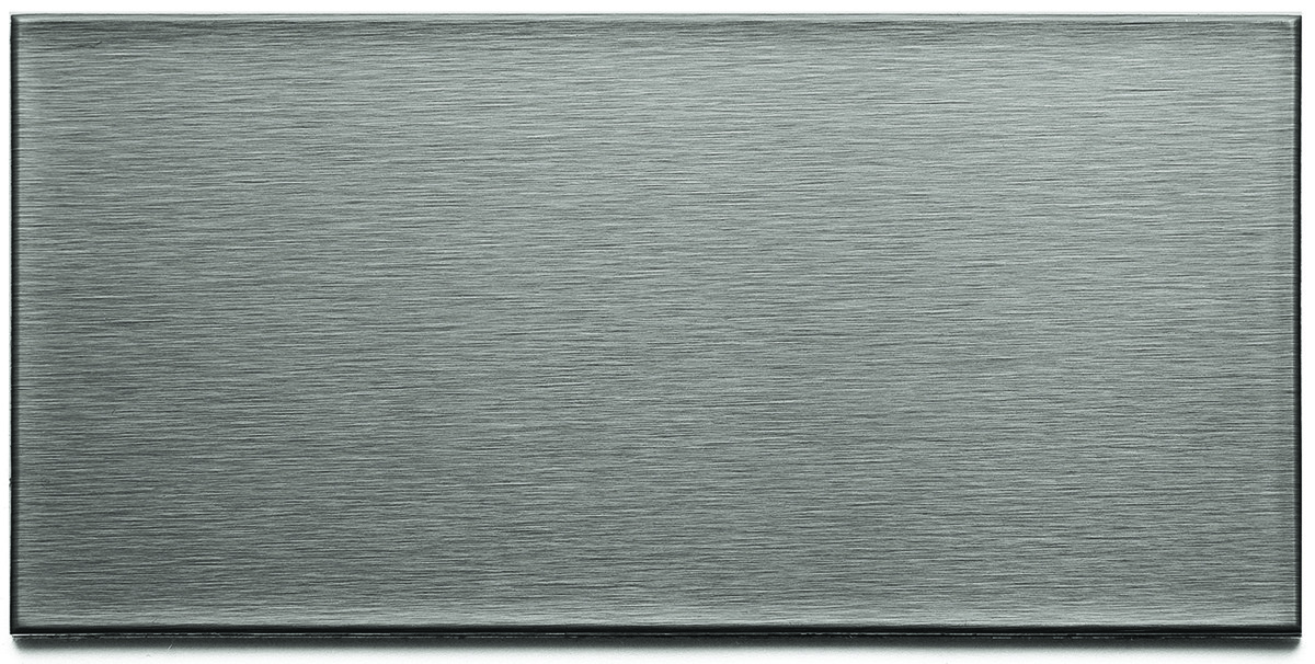 Building Materials Pvc Plastic Moldings Trim Backsplash Panels Acp A5250 Wall Tiles 3 By 6 Inch Long Grain Stainless Steel