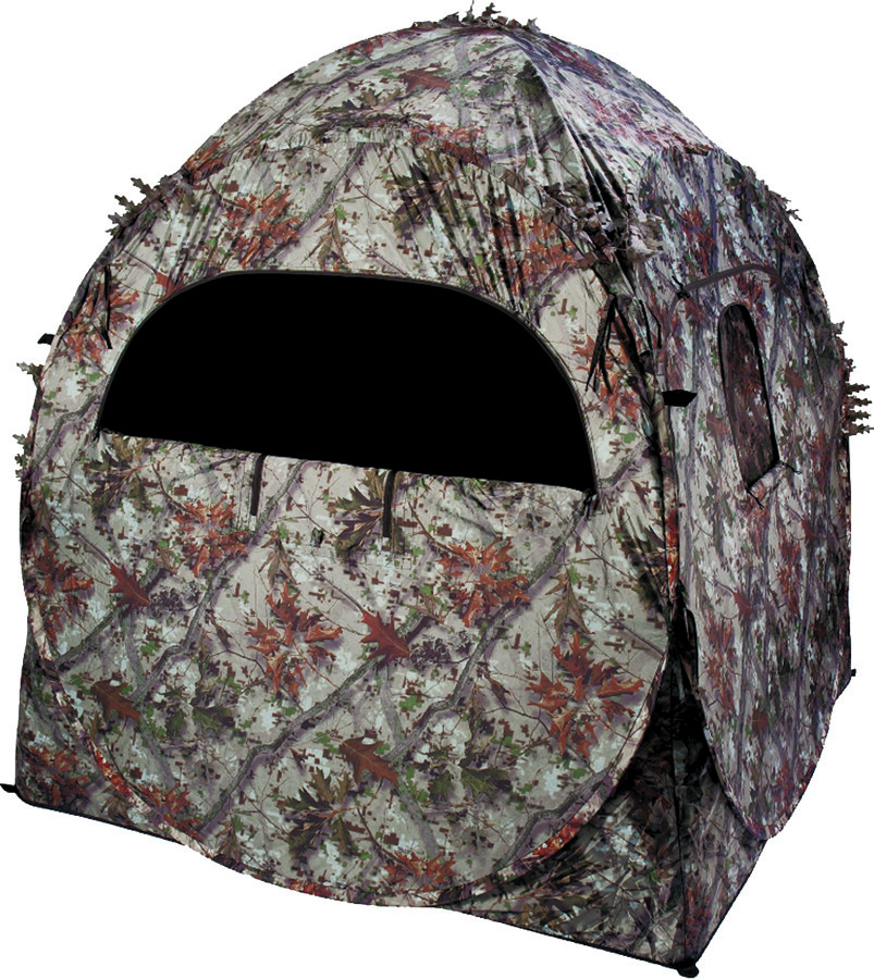 Ameristep 1RX2S010 Ground Blind Doghouse 7 Windows 60 By 60 By 66 Inch Tall  Camouflage