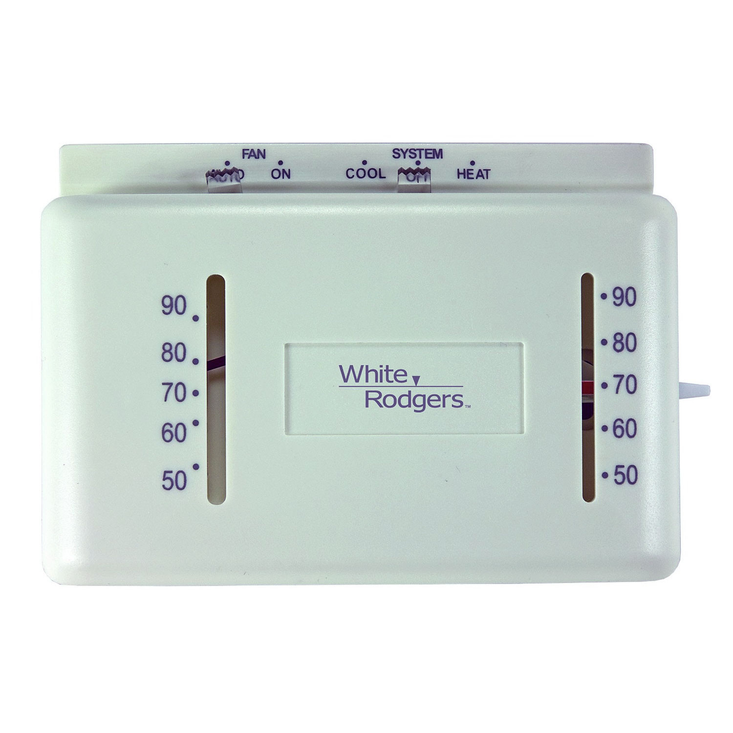 White Rodgers M150 24 Volt Heating And Cooling Mechanical Thermostat