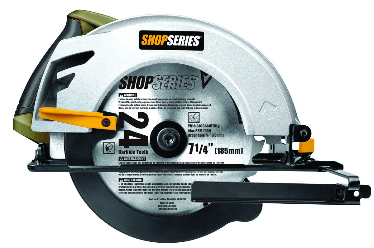 Rockwell ss3401 shop series circular saw 7 14 inch 845534015386 1 hover to zoom keyboard keysfo Images