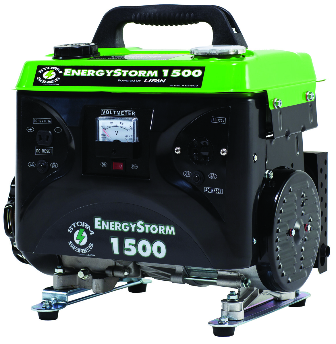 Lifan Power Es1500ca Energy Storm 1500 Watt Ohv Generator 120v On Reset Tap To Expand