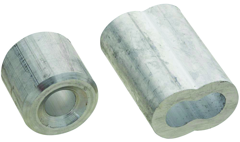 Stanley National N830-355 Ferrules And Stops Aluminum 1/4 Inch 2 ...